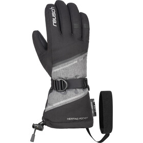 Reusch Demi R-TEX XT Gloves Women black/grey melange/silver